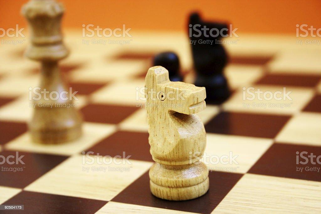 Winning Move royalty-free stock photo