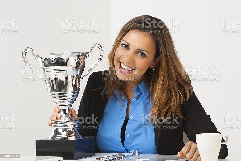 Winning stock photo