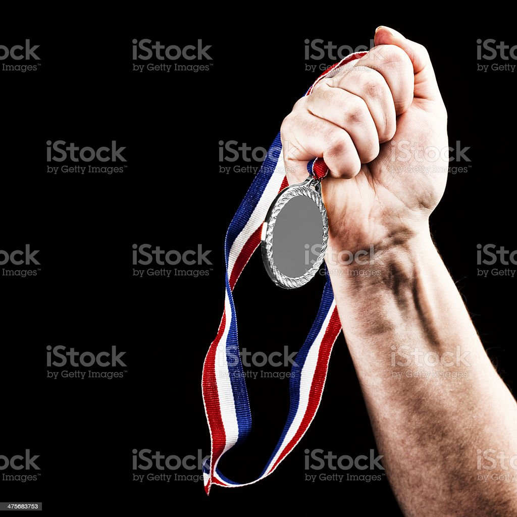 Winning Silver stock photo