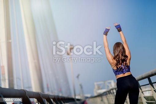 952953174 istock photo Winning, success and life goals concept 1068470050