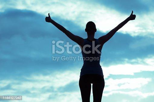 952953174 istock photo Winning, success and life goals 1154127042