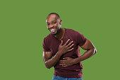 istock Winning success man happy ecstatic celebrating being a winner. Dynamic energetic image of male model 1005967280