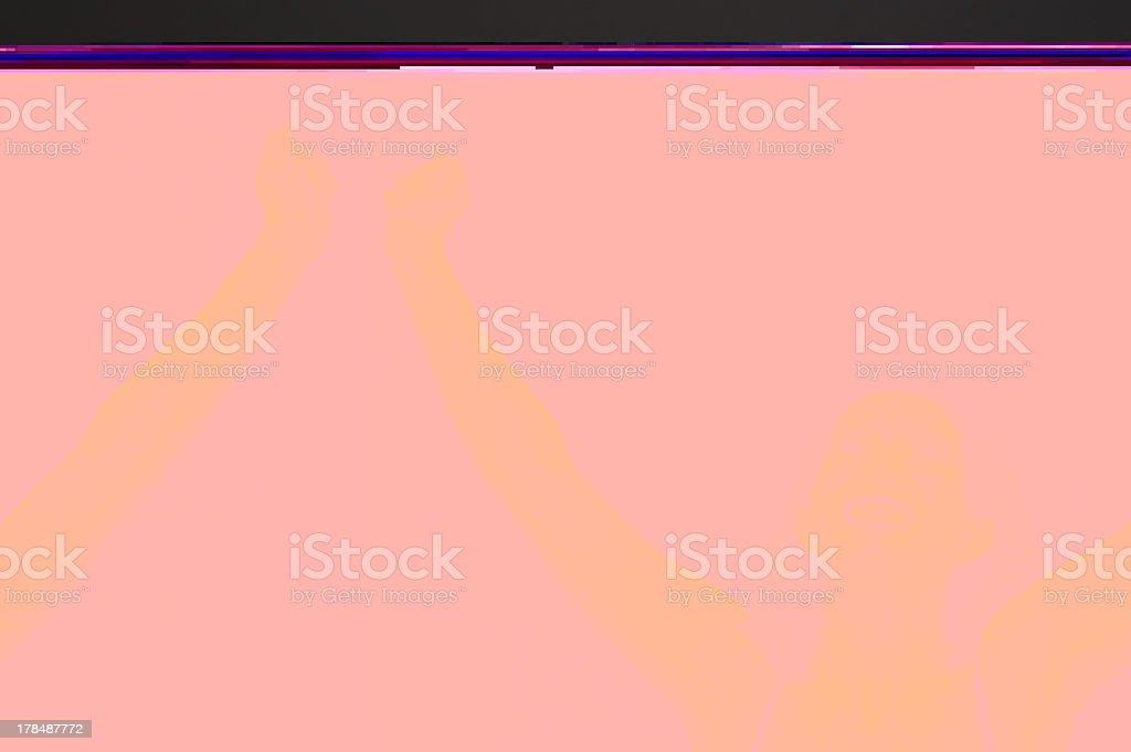 Winning Woman stock photo