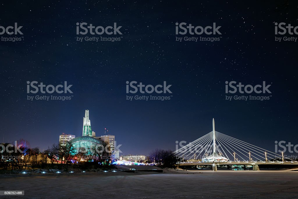 Winnipeg Manitoba stock photo