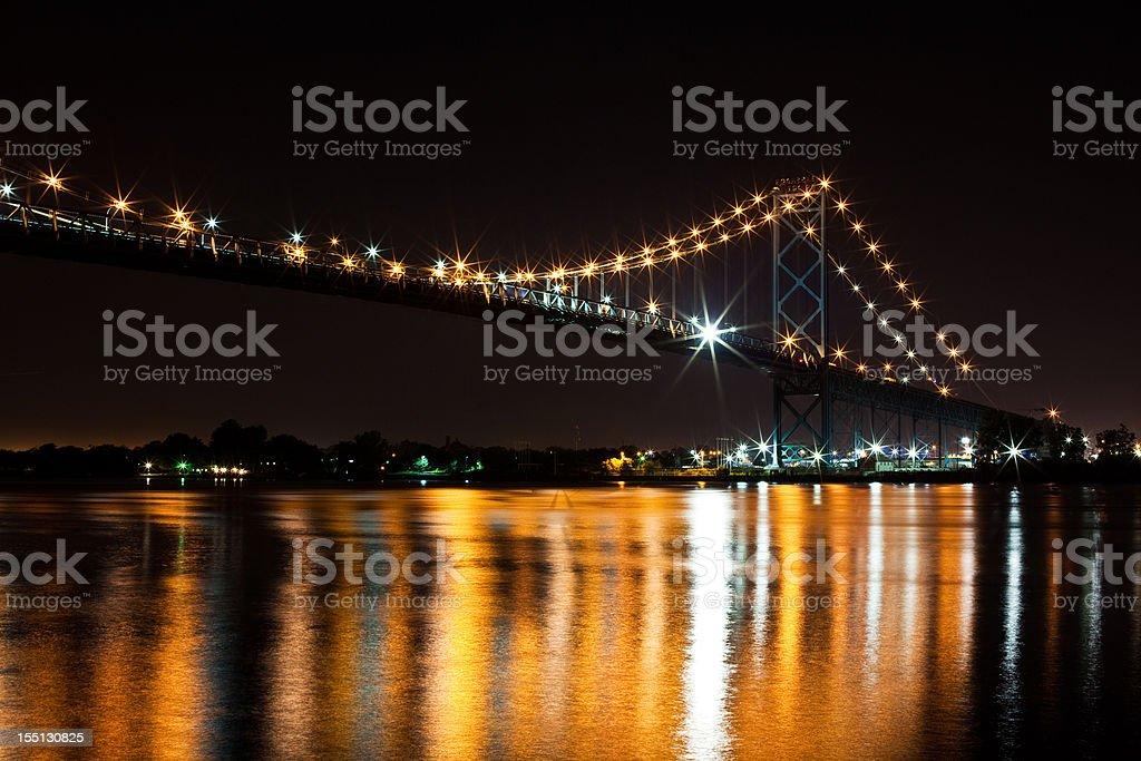 Winsdor, Canada - Ambassador Bridge stock photo