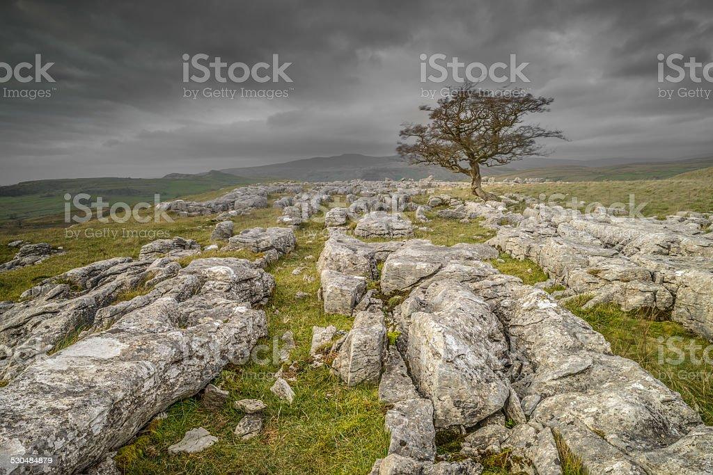 Winskill Rocks stock photo