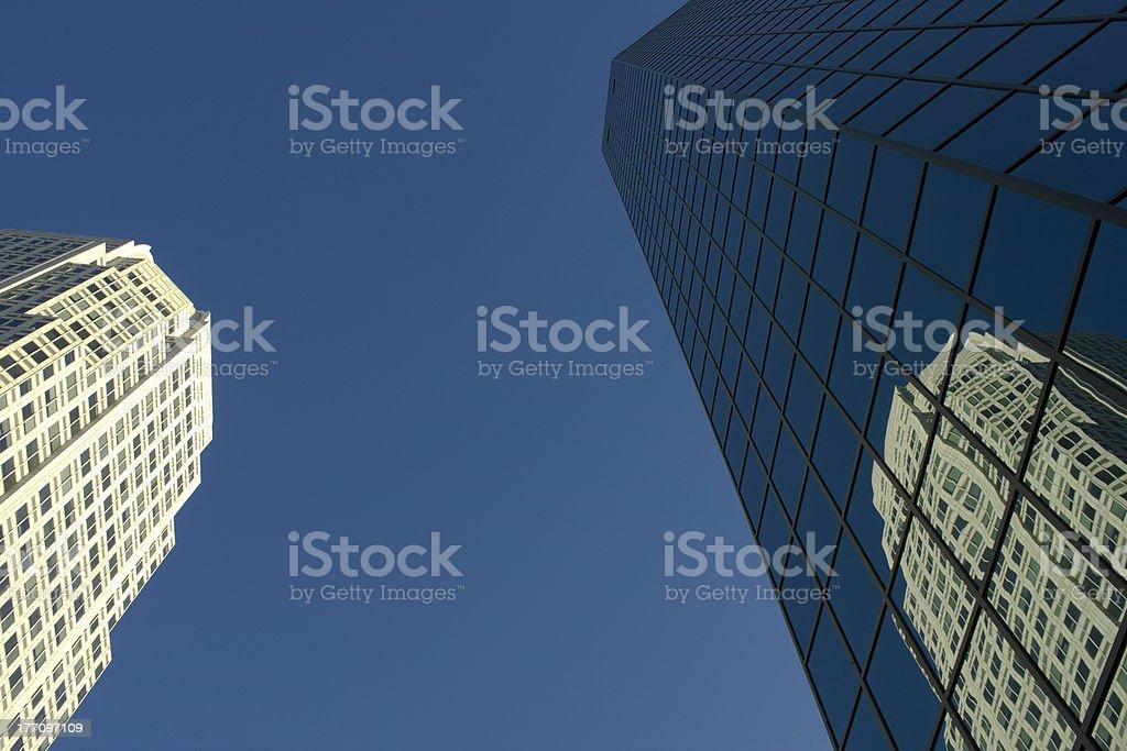 Winston-Salem Downtown Buildings stock photo