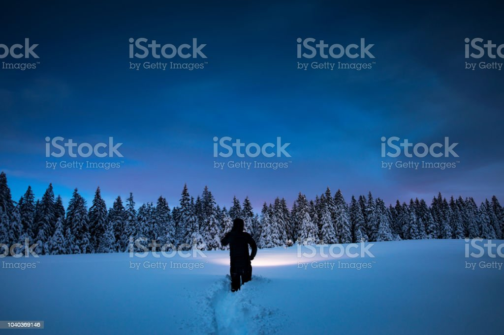 Winter Adventure stock photo