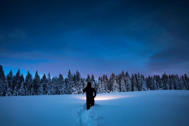 겨울 모험을 - 생태 보전 지역 뉴스 사진 이미지