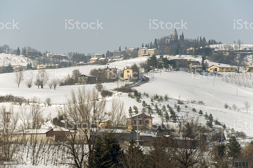 Winter Apennines royalty-free stock photo