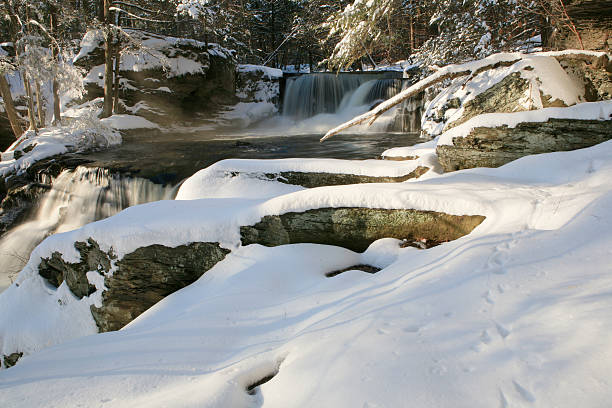 Winter at Delaware Water Gap Recreation Area