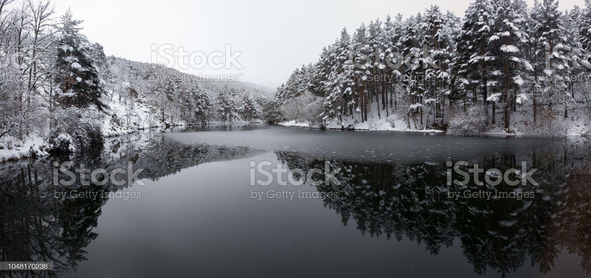 Invierno en la presa del Pradillo