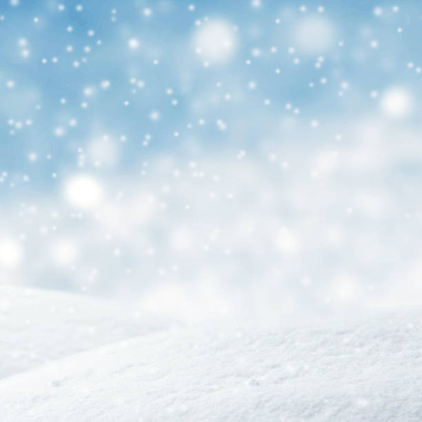 winter background, christmas background. - flocon de neige neige photos et images de collection