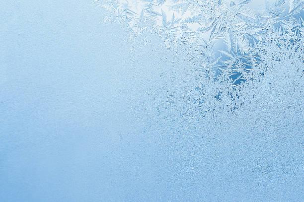 겨울맞이 배경, frost on 창 - 서리 뉴스 사진 이미지