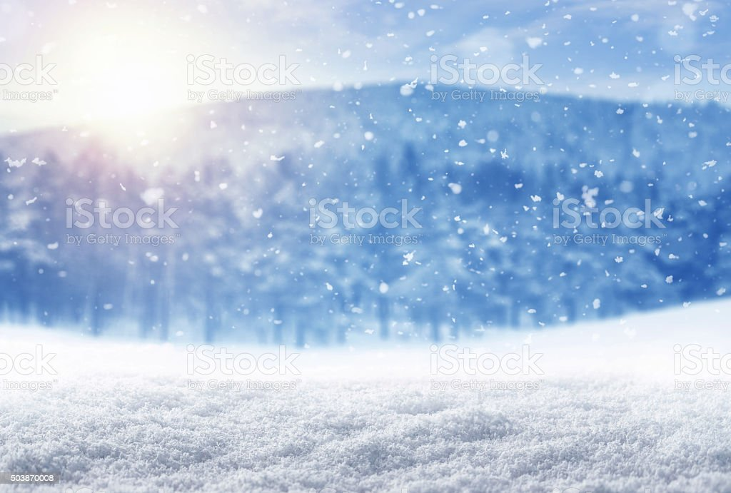 Fondo de invierno - foto de stock