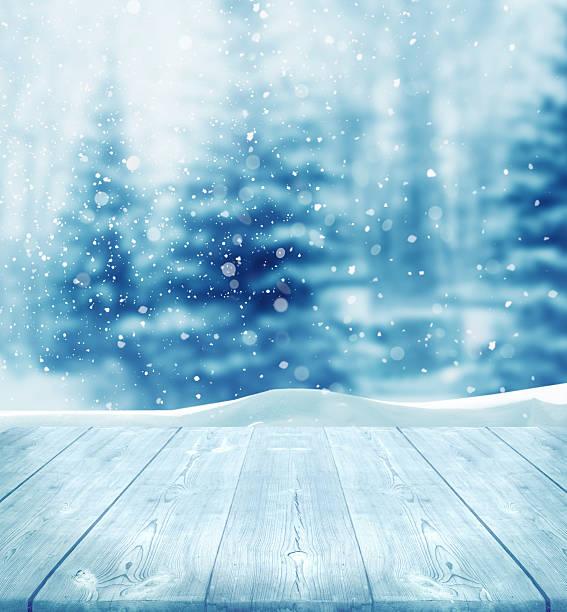 winter-hintergrund - es schneit text stock-fotos und bilder