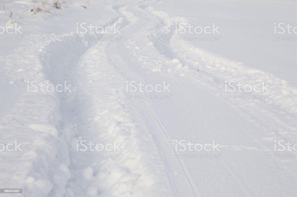 Sfondo di inverno foto stock royalty-free