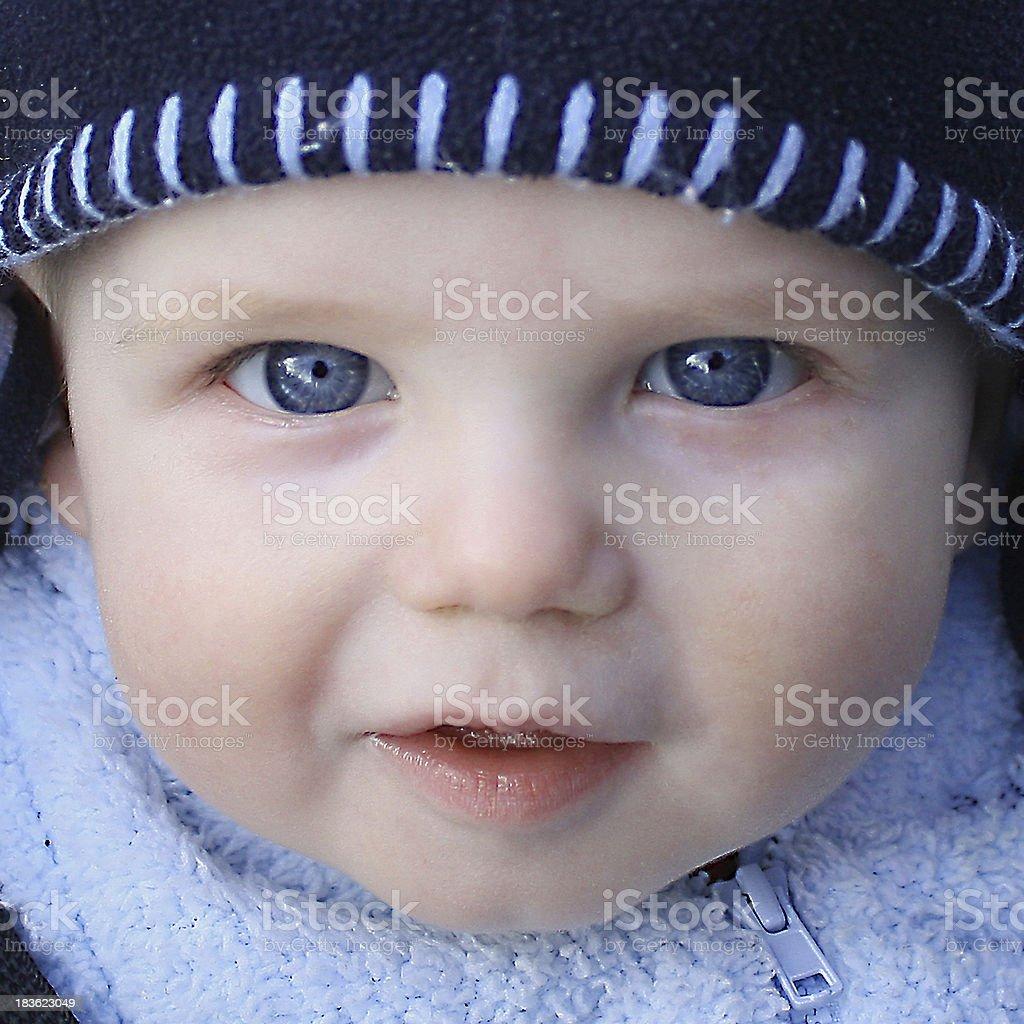 Winter Blues royalty-free stock photo