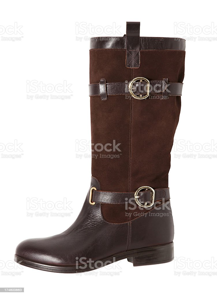 winter boot royalty-free stock photo