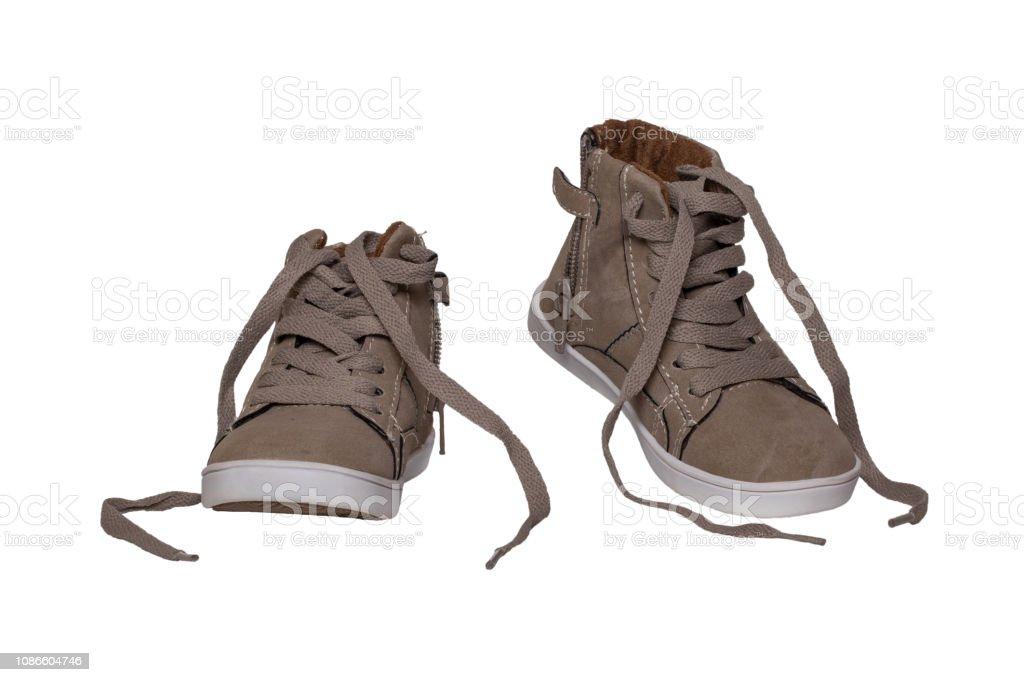 Winter Stiefel Schuhe Wildleder Ein Paar Braune Und sdothrCBQx