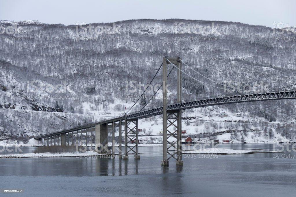 Winter Bridge stok fotoğrafı