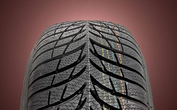 pneus d'hiver voiture - rame pièce détachée photos et images de collection