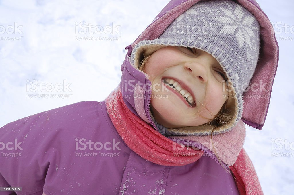 winter child royalty-free stock photo