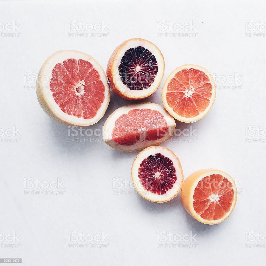 Winter Citrus stock photo