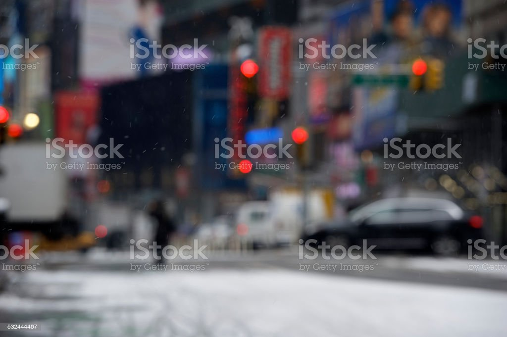Winter City Daze Lizenzfreies stock-foto