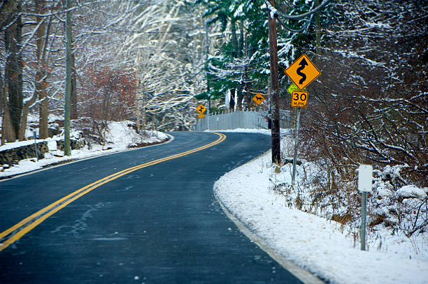 Winter Country Drive – Foto