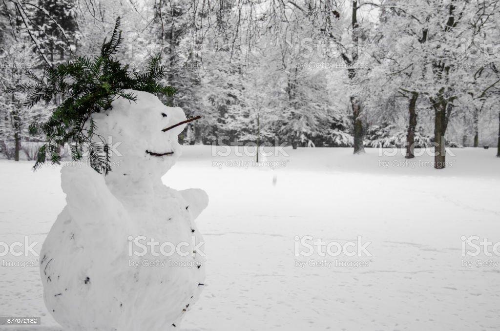 winter creativity stock photo