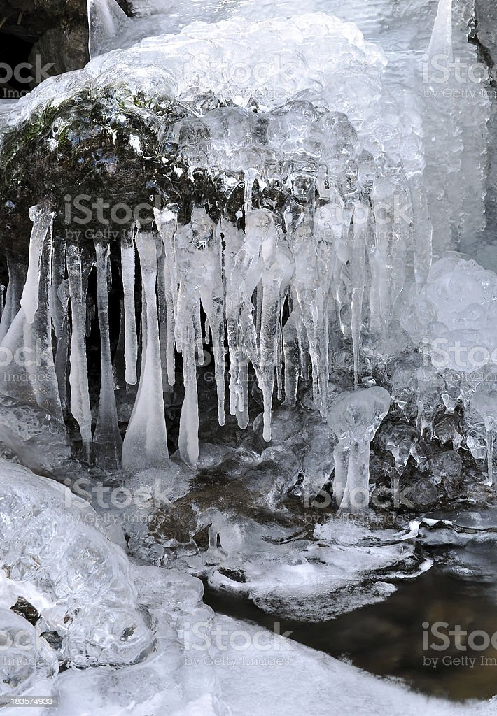 winter creek royalty-free stock photo