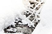 Winter Creek under snow cover
