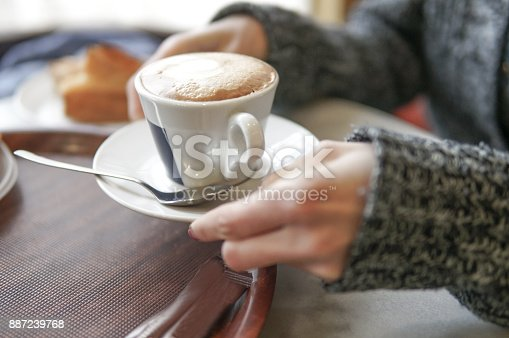istock Winter cup of coffee 887239768