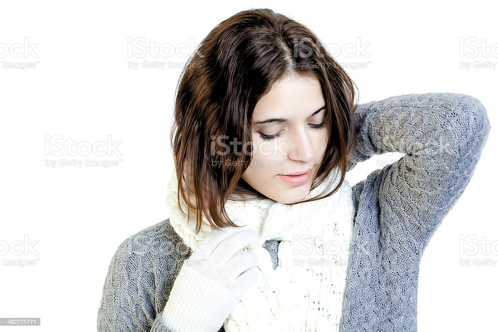 Winter Cutie royalty-free stock photo