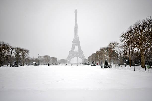 Winter day in Paris