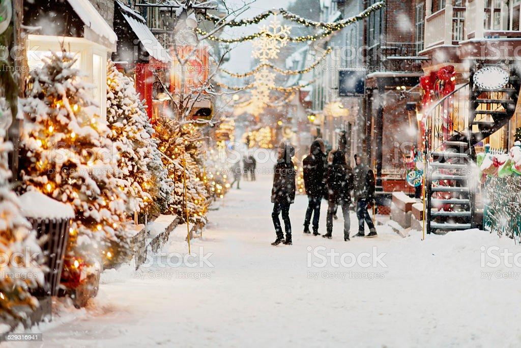 Día de invierno - foto de stock