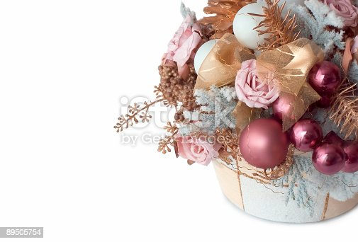 istock winter decoration isolated on white 89505754