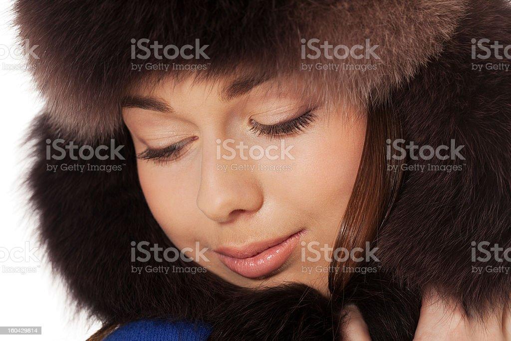 Winter dreams stock photo