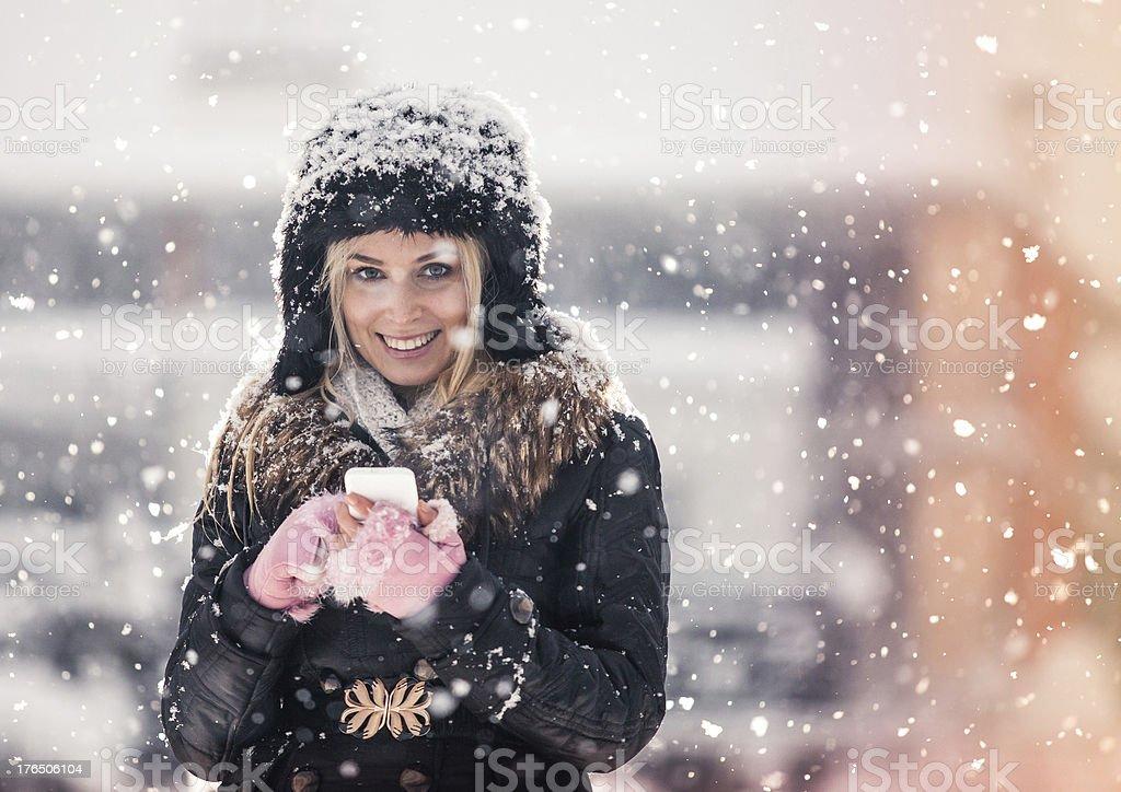 Winter dreams royalty-free stock photo