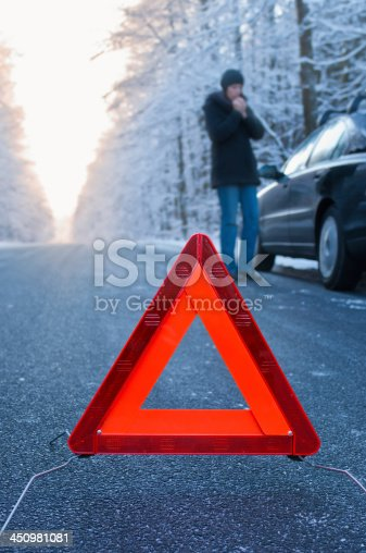 482803237istockphoto Winter driving - car breakdown 450981081