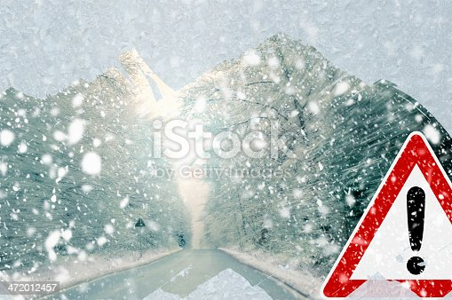 482803237istockphoto Winter driving - caution 472012457