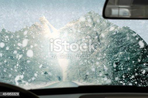 482803237istockphoto Winter driving 454953329