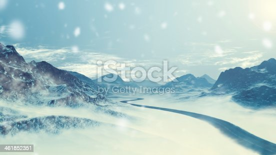 482803237 istock photo winter driving - snowy landscape 461852351