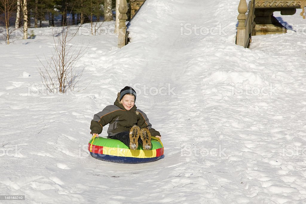 Winter entertainments stock photo