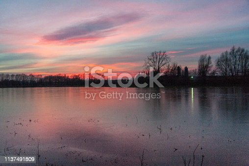istock Winter evening 1137491809