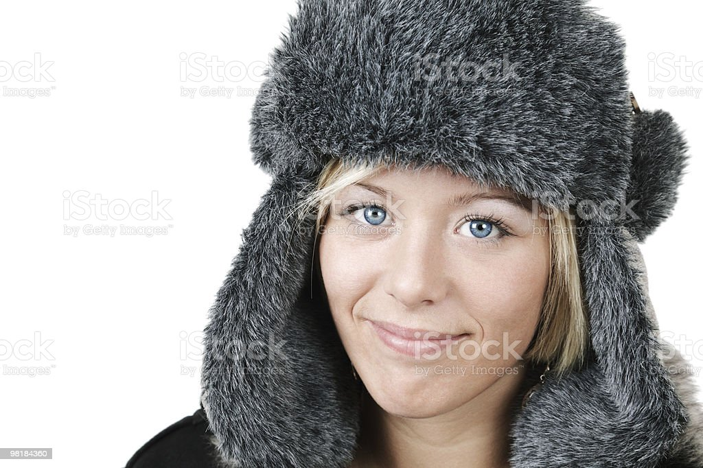 Inverno moda foto stock royalty-free
