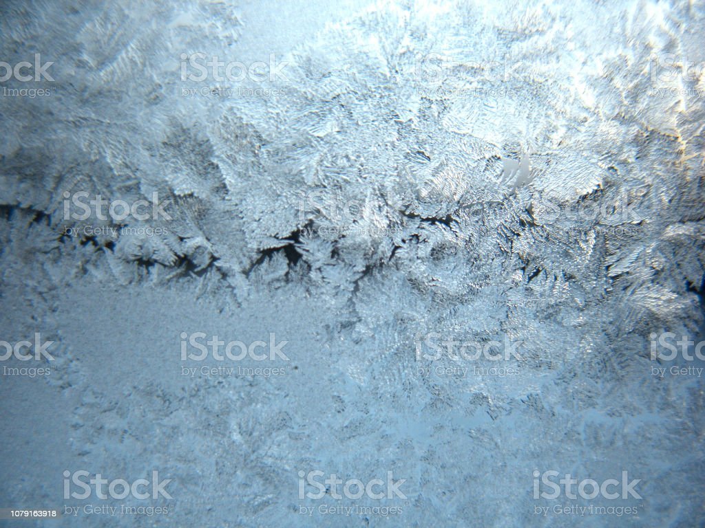 Winterfärben-Fenster – Foto