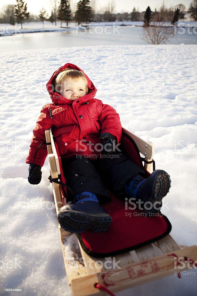 Winter-Spaß Lizenzfreies stock-foto