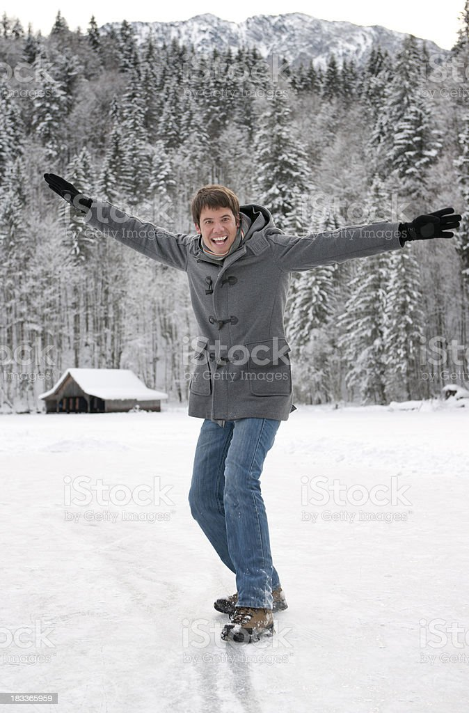 Winter Fun (XXXL) royalty-free stock photo